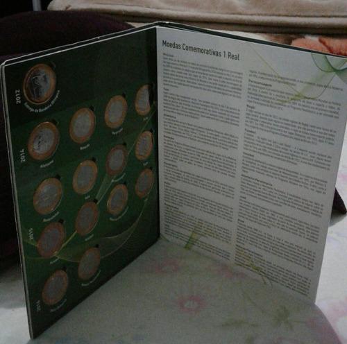 comemorativas das coleção moedas