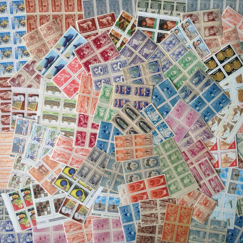 comemorativos novos selos