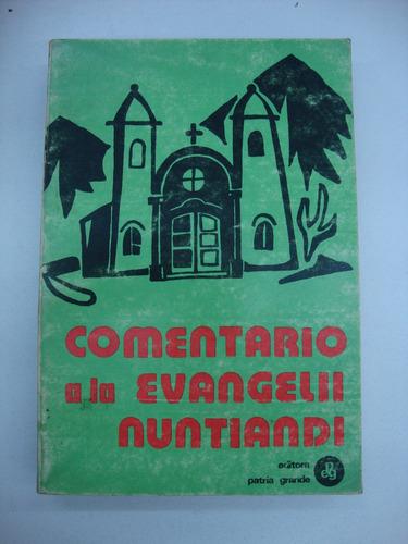 comentario a la evangelii nuntiandi - gerardo farrell