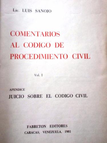 comentarios al código de procedimiento civil. liqui