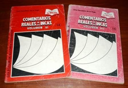 comentarios reales los incas garcilaso tribuna 2 fascículos