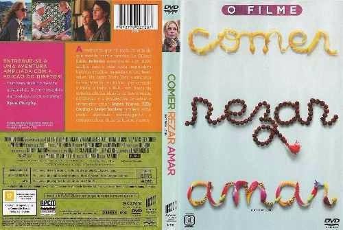 comer rezar amar dvd lacrado original sonyjuia roberts