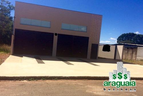 comercial galpão / barracão - araguaia-403-v
