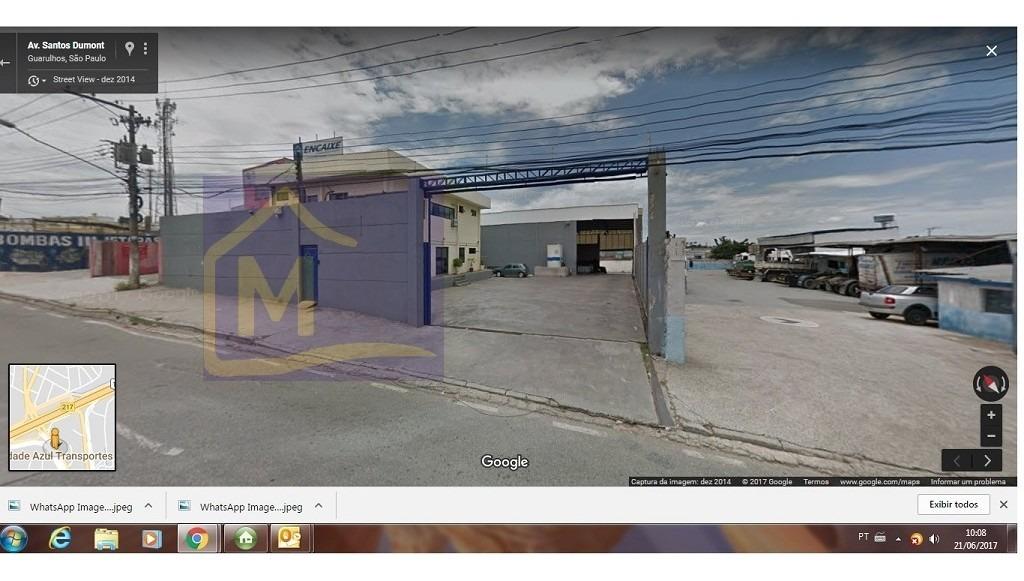 comercial para aluguel, 0 dormitórios, cumbica - guarulhos - 886
