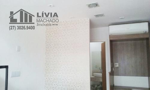 comercial para aluguel, 0 dormitórios, praia do canto - vitória - 1255
