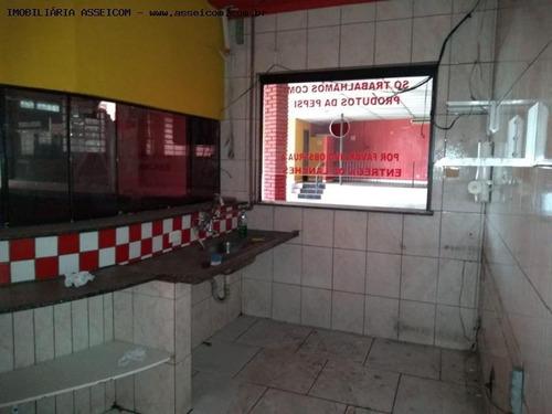 comercial para locação em suzano, centro, 2 banheiros - 500