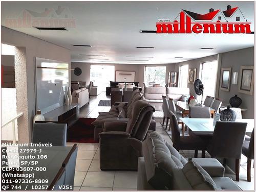 comercial para venda, 0 dormitórios, penha de frança - são paulo - 744