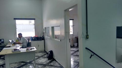 comercial para venda, 0 dormitórios, vila homero thon - santo andré - 3890