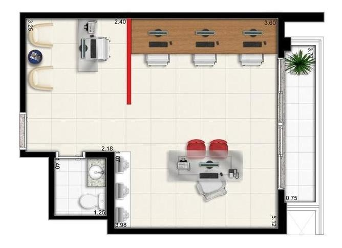 comercial para venda em são paulo, bela vista, 1 banheiro, 1 vaga - 1393_2-90001