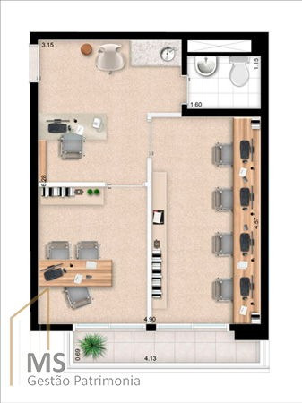 comercial sala no new station - 658720-l