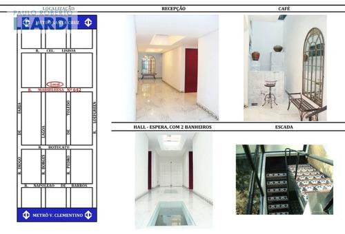 comercial vila clementino  - são paulo - ref: 498467