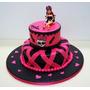 Tortas Monster Hight Cup Cakes Fiestas Infantiles Cumpleaños