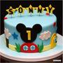 Torta De Mickey Y Minnie Mouse