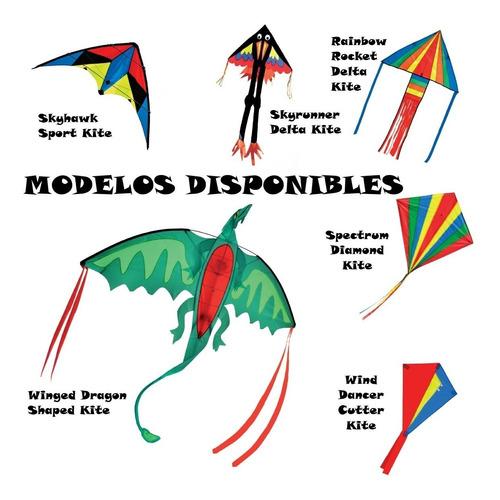 cometa papalote - melissa and doug - spectrum diamond kite