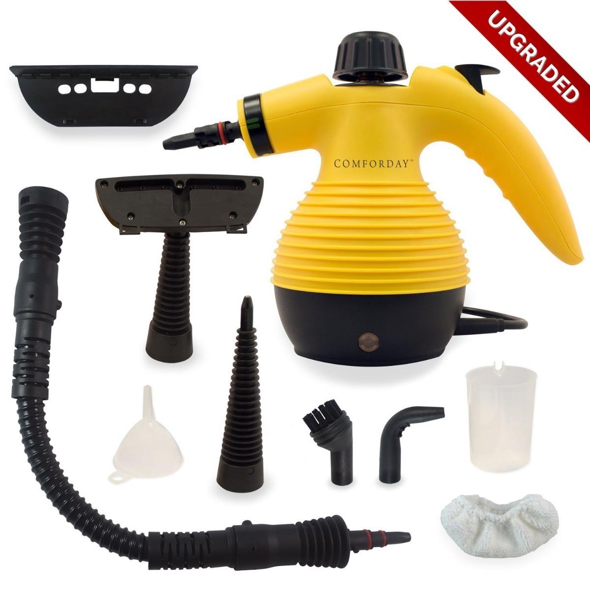 Comforday Maquina Limpieza A Vapor Multiusos 1 350 00 En  # Alfombras Y Muebles Power Espray