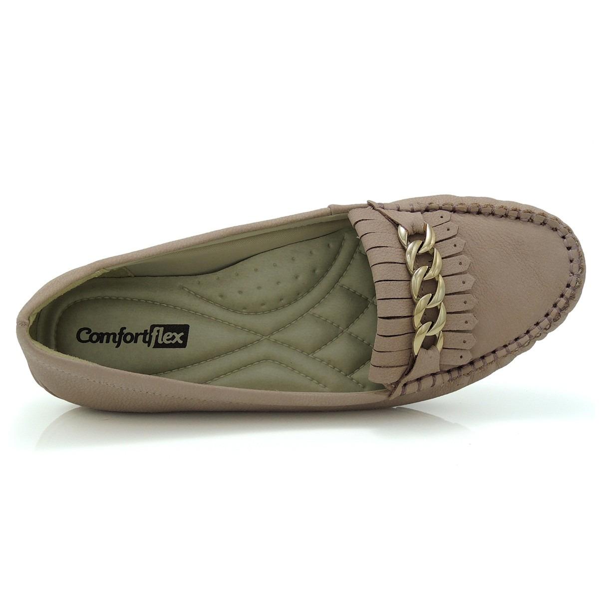 cf02cf052d Sapato Mocassim Comfortflex 1573305 - Nude - Olfer Calçados - R  49 ...