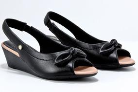 9612715be2 Tamanco Anabela Comfortflex - Sapatos no Mercado Livre Brasil