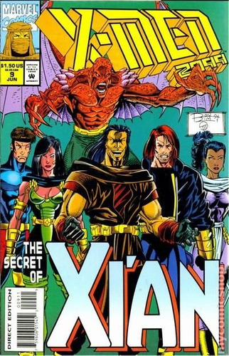 comic  2099 5 ejemplares fantastic four, x-men, x-nation
