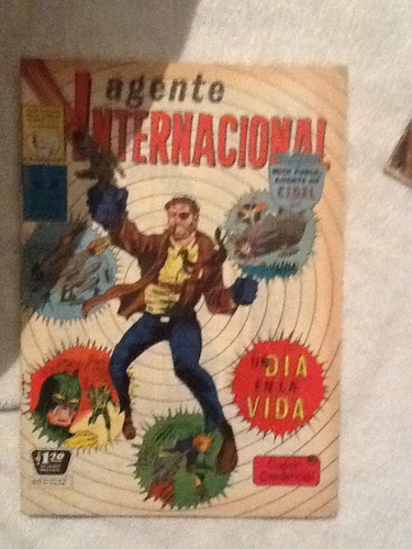 comic agente internacional