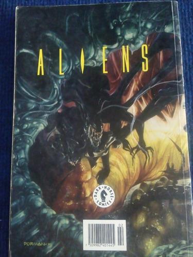 comic  aliens, estallido  2