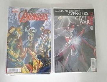 comic all new avengers saga 16 tomos editorial televisa