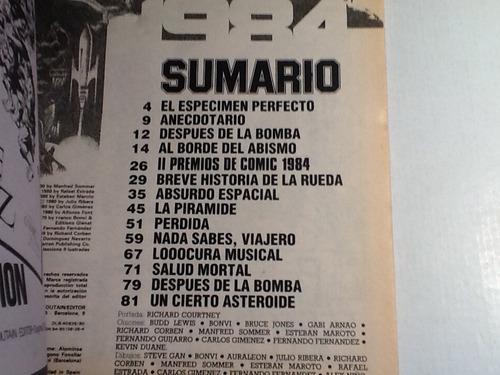 comic almanaque 1984