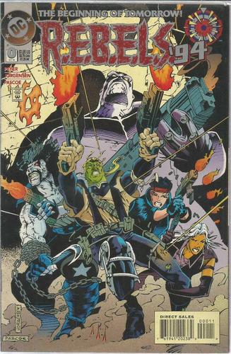 comic americano: rebels 94  0 - bonellihq cx394 h18