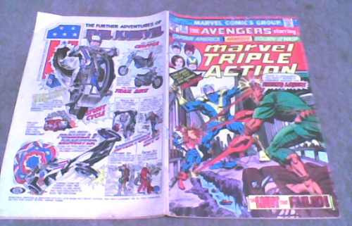 comic americano the avengers