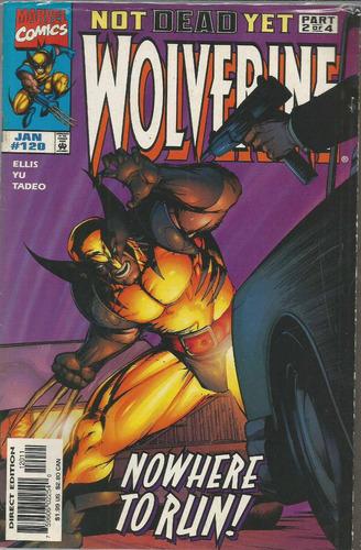 comic americano: wolverine 120 - bonellihq cx413 h18