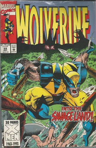 comic americano: wolverine 69 - bonellihq cx413 h18