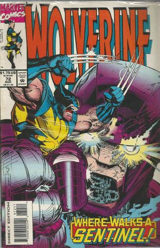 comic americano: wolverine 72 -  bonellihq cx413 h18