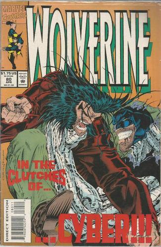 comic americano: wolverine 80 - bonellihq cx413 h18
