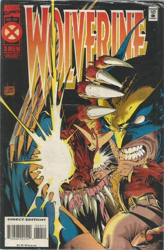 comic americano: wolverine 89 - bonellihq cx413 h18