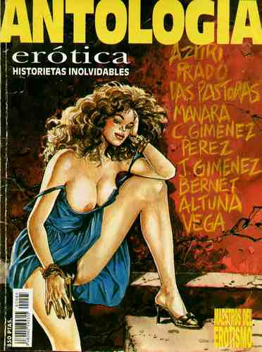 comic antologia erotica