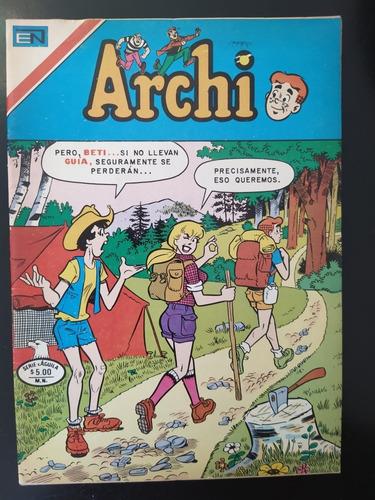 comic archi, editorial novaro y vid, años 70's, 80's y 90's