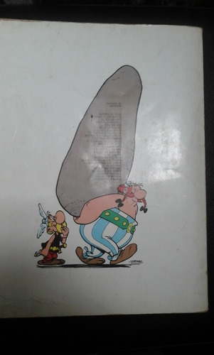 comic asterix y obelix  la hoz de oro