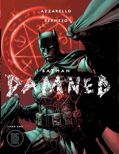 comic batman damned libro uno portada variante jim lee