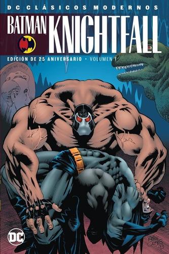 comic batman knightfall volumen 1 edicion 25 aniversario