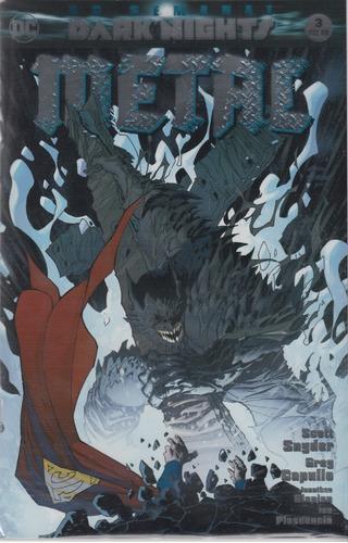 comic batman metal # 3 dark nights  español