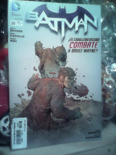 comic batman tomo 20 ed dc mexico