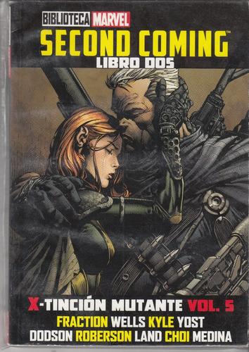 comic biblioteca marvel tomo # 14 second coming libro dos