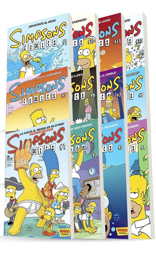 comic, bongo, pack  simpsons comics. ovni press