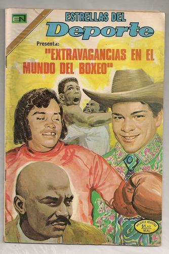 comic box extravagancias en el mundo del boxeo novaro 1973