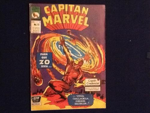 comic capitán marvel num. 15 la prensa anos 60s