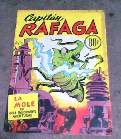 comic capitan rafaga año 1953