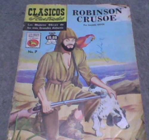 comic clasicos ilustrados r.crusoe no.7