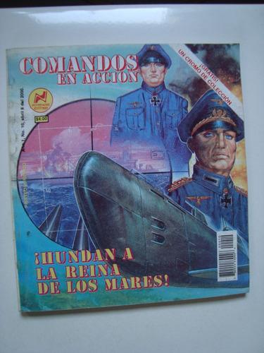 comic comandos en accion hundan a la reyna de los mares