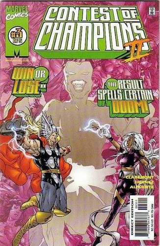 comic contest of the champions  2 ejemplares flipbook