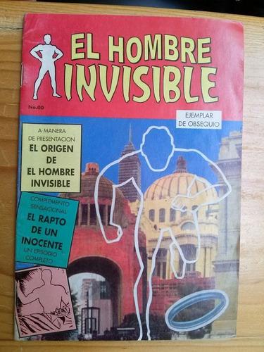 comic cuento historieta el hombre invisible num 00 enpra