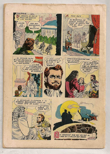 comic cuentos walt disney # 76 rob roy novaro 1955
